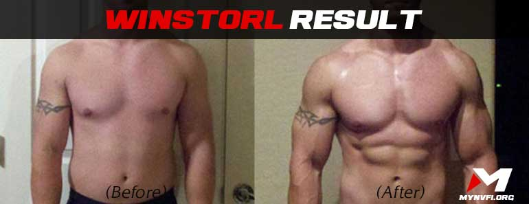 Winstrol (Stanozolol) results before and after
